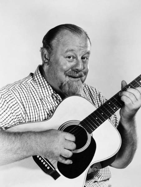 Ives Photograph - Burl Ives (1909-1995) by Granger