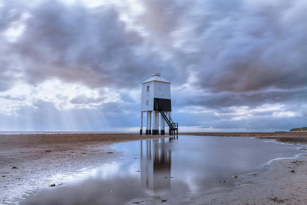 Bristol Channel Photograph - Burnham-on-sea - England by Joana Kruse