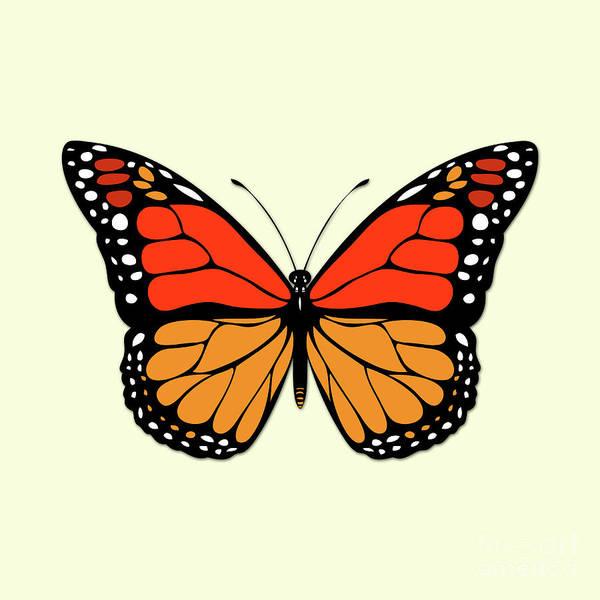Wall Art - Digital Art - Butterfly by Gaspar Avila