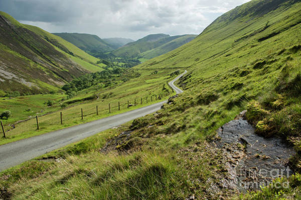 Photograph - Bwlch Y Groes, North Wales Uk by Keith Morris