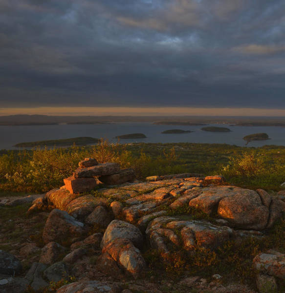 Wall Art - Photograph - Cadillac Mountain Evening by Stephen  Vecchiotti