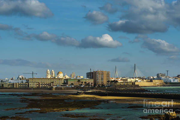 Photograph - Cadiz View From San Sebastian Castle Cadiz Spain by Pablo Avanzini