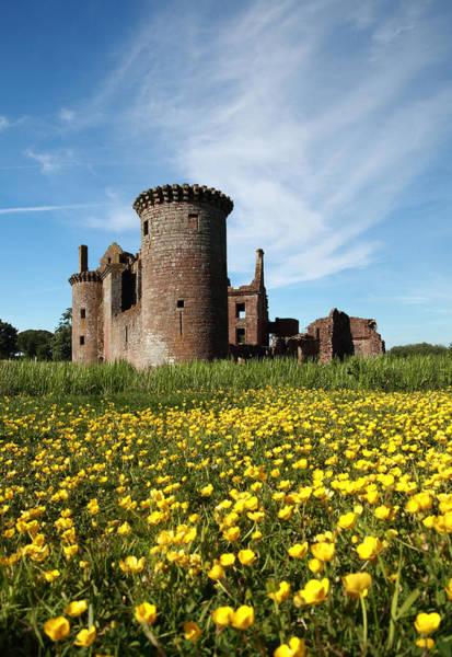 Photograph - Caerlaverock Castle by Maria Gaellman