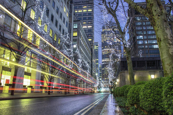 Economics Photograph - Canary Wharf London by Martin Newman