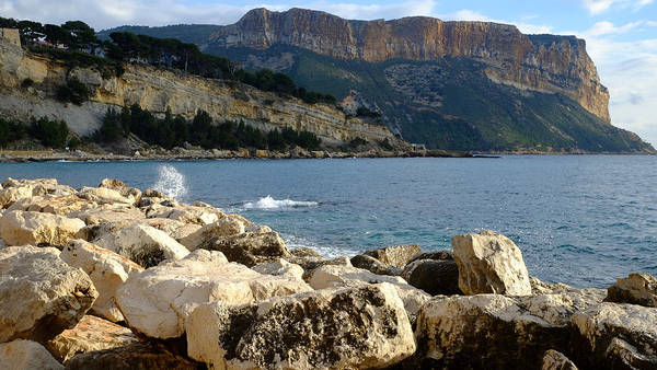 Photograph - Cap Canaille Cassis by August Timmermans