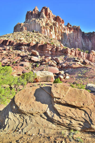 Photograph - Capitol Gorge Entrance by Ray Mathis