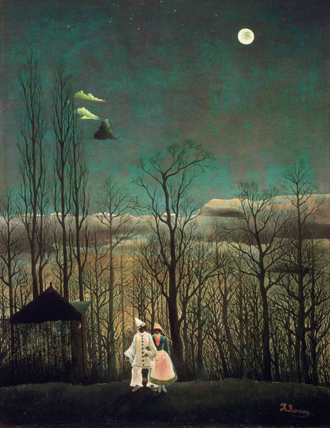 Carnival Painting - Carnival Evening by Henri Rousseau