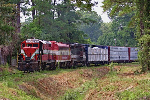 Vintage Conway Photograph - Carolina Southern Railroad by Joseph C Hinson