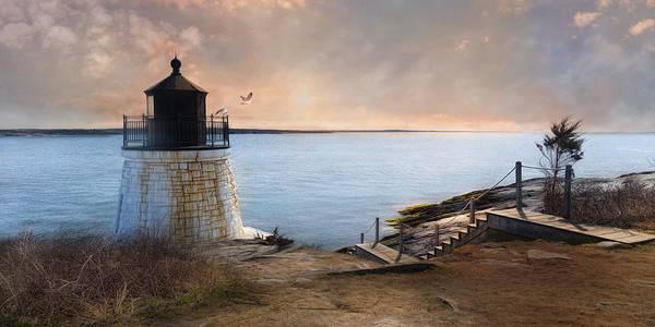 Photograph - Castle Hill Light by Robin-Lee Vieira