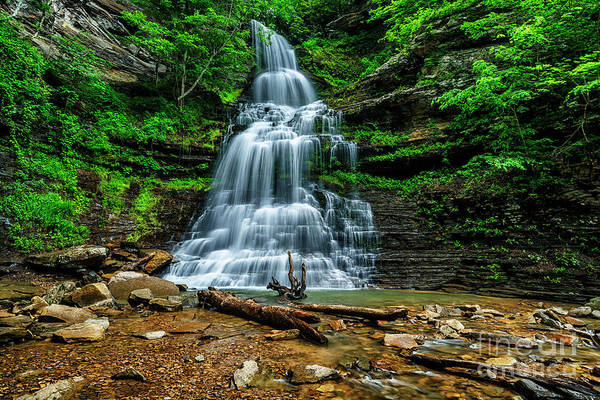 Photograph - Cathedral Falls by Thomas R Fletcher
