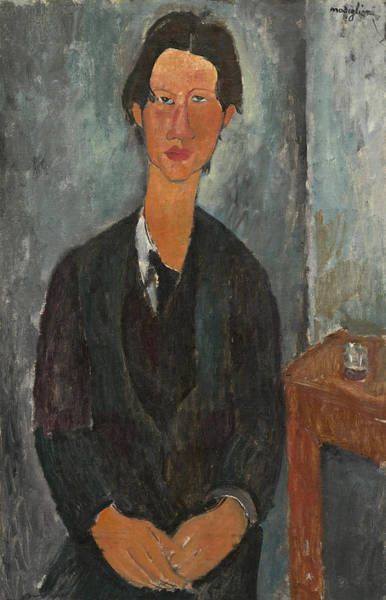 Painting - Chaim Soutine by Amedeo Modigliani
