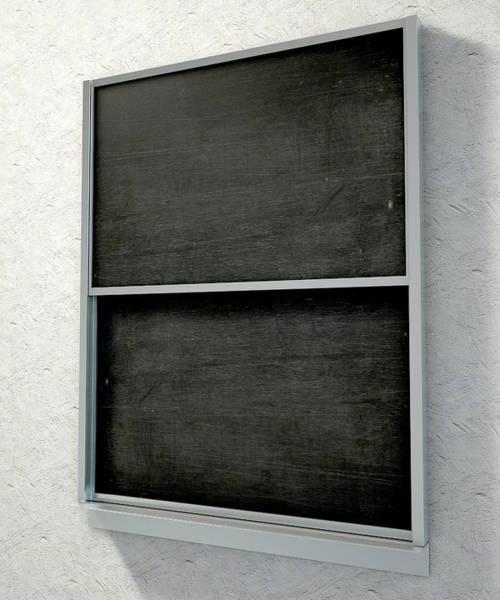 Wooden Digital Art - Chalk Board Render by Allan Swart