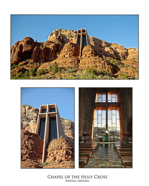 Red Rocks Of Sedona Photograph - Chapel Of The Holy Cross - Sedona Arizona by Jon Berghoff