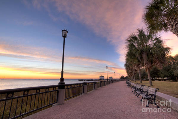 Photograph - Charleston Waterfront Park Sunrise  by Dustin K Ryan