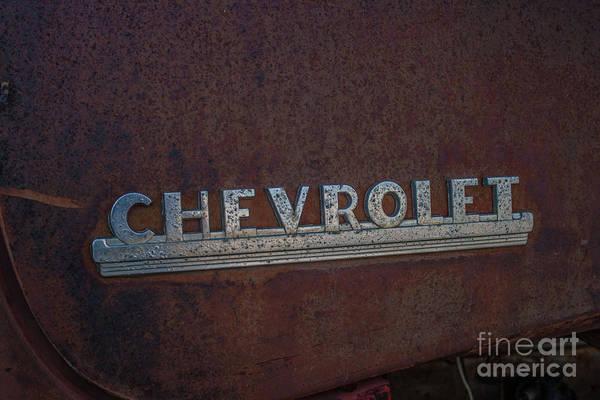 Photograph - Chevrolet by Tony Baca