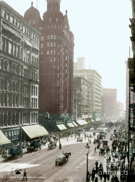 Photograph - Chicago, 1905 by Granger