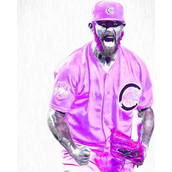 Athletes Wall Art - Photograph - Chicago Cubs Ace Jake Arietta. No No #2 by David Haskett II