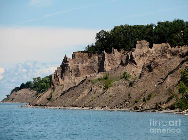 Photograph - Chimney Bluffs On Lake Ontario by Rose Santuci-Sofranko