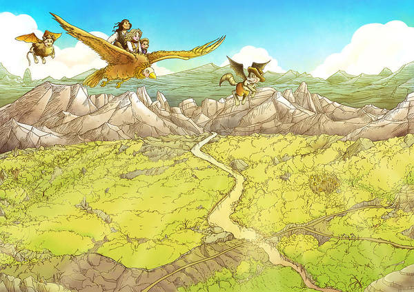 Chiricahua Mountains Art Print