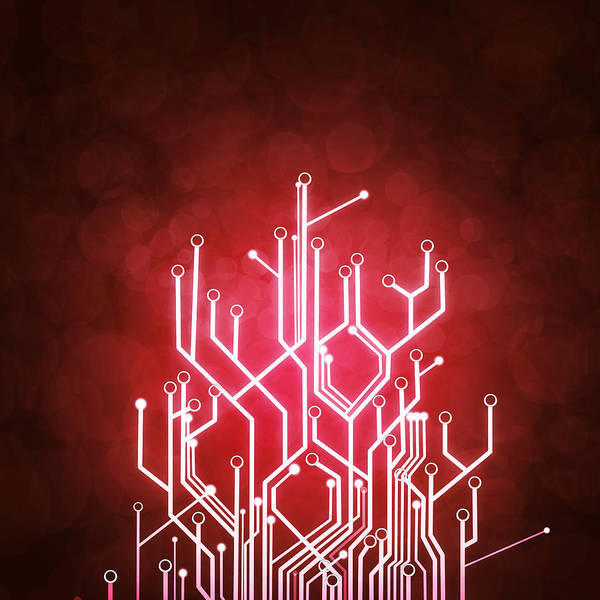 Wall Art - Photograph - Circuit Board by Setsiri Silapasuwanchai