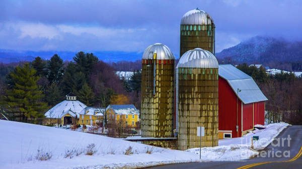 Waitsfield Photograph - Classic Vermont Scene by Scenic Vermont Photography
