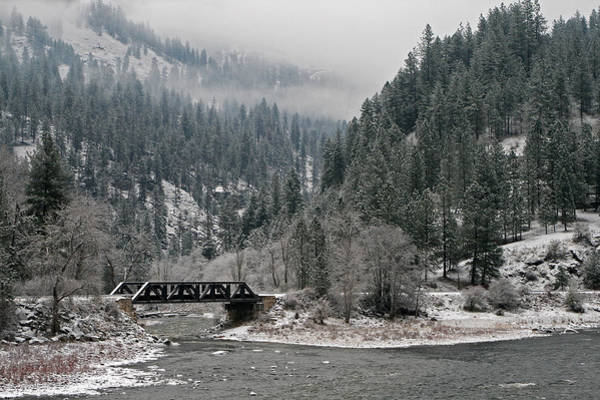 Photograph - Clearwater River by Frank Morales Jr
