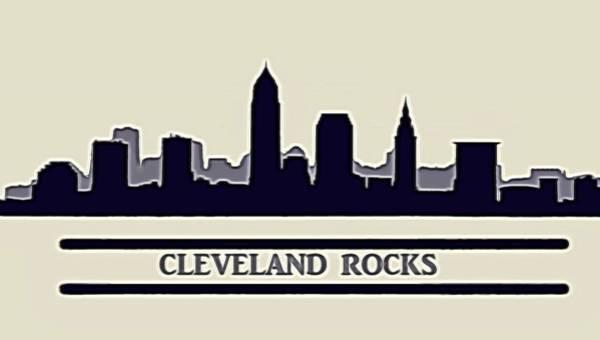 Wall Art - Digital Art - Cleveland Rocks by Dan Sproul