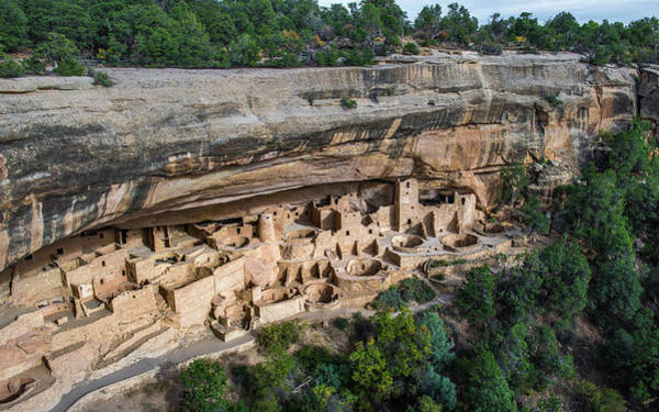 Verde Photograph - Cliff Palace by Joseph Smith