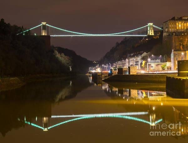 Photograph - Clifton Suspension Bridge, Bristol. by Colin Rayner
