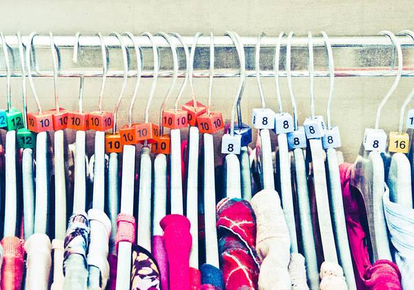 Dress Shop Photograph - Clothes Sale by Tom Gowanlock