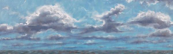 Painting - Clouds by Gary M Long