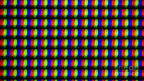 Photograph - Clouseup Of The Plasma Tv Screen by Odon Czintos