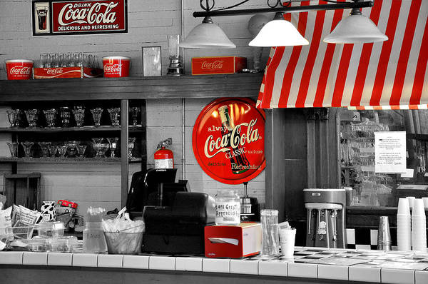 Diner Wall Art - Photograph - Coca Cola by Todd Hostetter