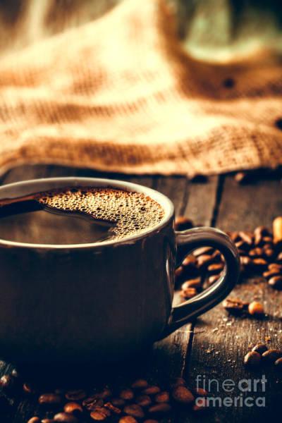 Coffee Grinder Wall Art - Photograph - Coffee by Mythja Photography