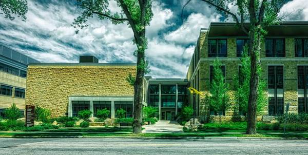 Laramie Photograph - College Of Business - University Of Wyoming by Mountain Dreams
