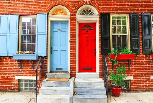 Colonial Doors Art Print by Andrew Dinh