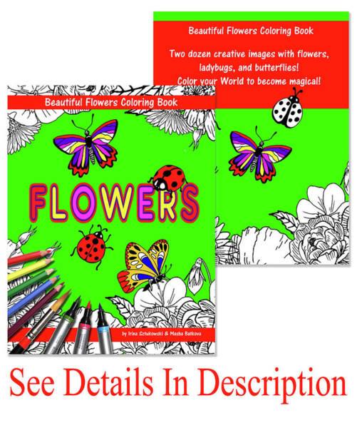 Mixed Media - Coloring Book For Kids And Parents By Irina Sztukowski  by Irina Sztukowski