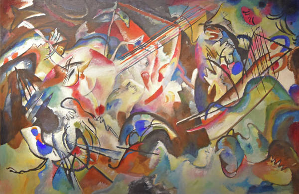 Composition Vi Art Print by Wassily Kandinsky
