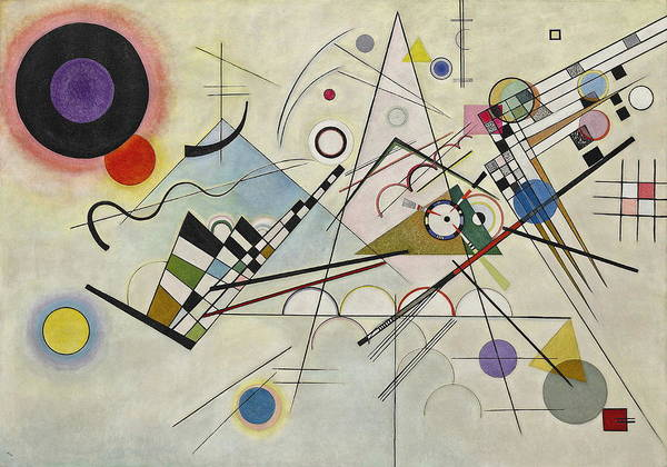 Wall Art - Painting - Composition    by Wassily Kandinsky