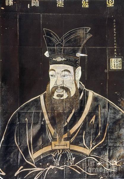Photograph - Confucius (c551-479 B.c.) by Granger