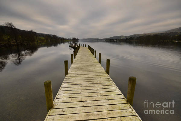 Lake District National Park Wall Art - Photograph - Coniston Water by Smart Aviation