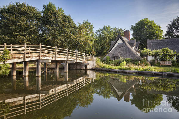 English Cottage Photograph - Constable Country by Colin and Linda McKie