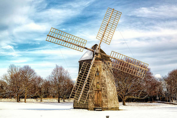Photograph - Corwith Windmill Long Island Ny Cii by Susan Candelario