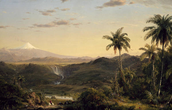 Wall Art - Painting - Cotopaxi by Frederic Edwin Church