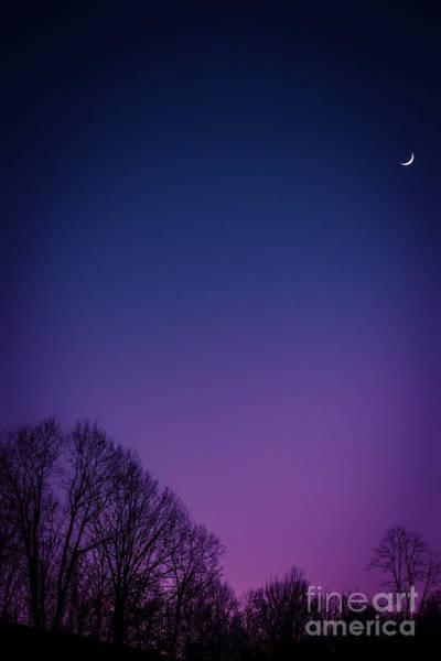 Photograph - Crescent Moon  by Thomas R Fletcher