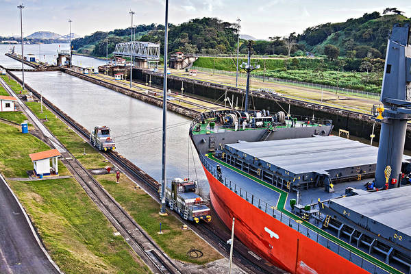 Photograph - Crossing Panama Canal #2 by Tatiana Travelways