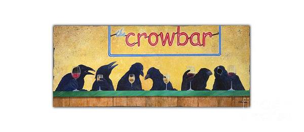 Wall Art - Painting - Crowbar... by Will Bullas