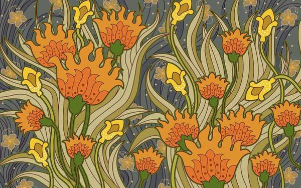Flower Digital Art - Cultural by Maye Loeser