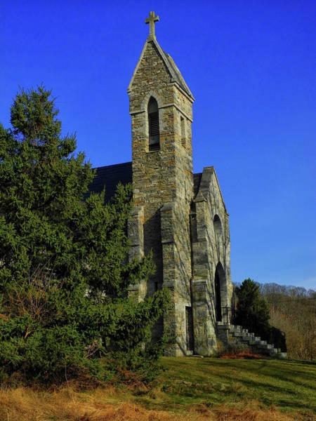 Photograph - Dahlgren Chapel by Raymond Salani III