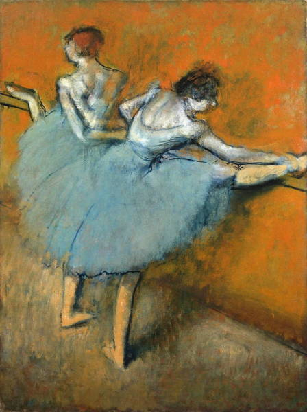 Painting - Dancers At The Barre by Edgar Degas
